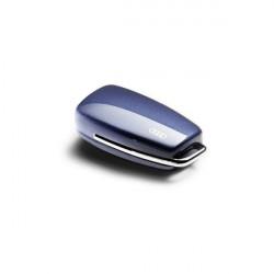 Couvre-clé Audi bleu utopia