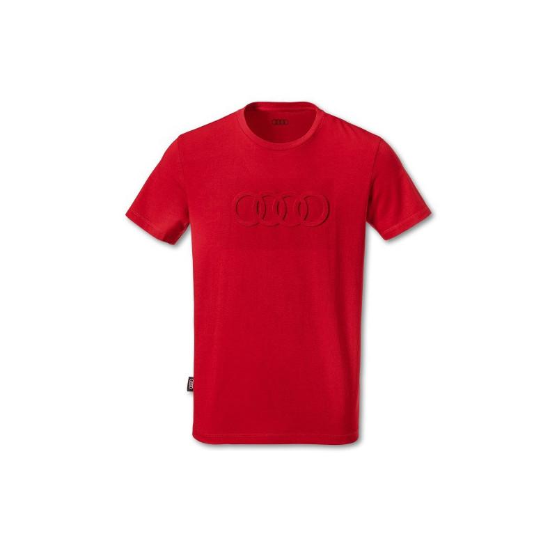 T-shirt Audi rouge taille L