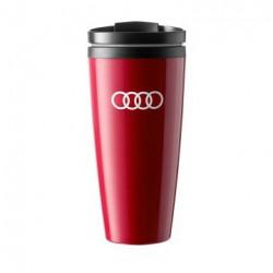 Peluche Audi volant rouge