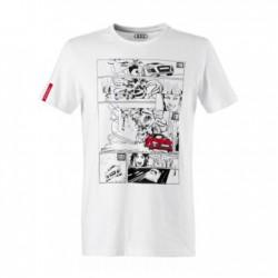 T-shirt BD Audi Sport blanc taille M