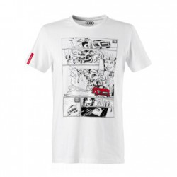 T-shirt BD Audi Sport blanc taille L