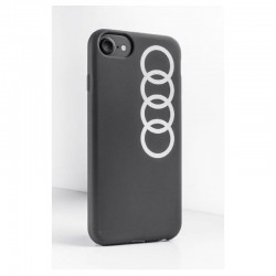 Coque iPhone Audi grise