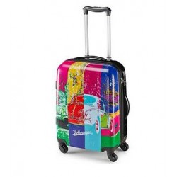 Valise Motif Coccinelle Pop Art Collection Classique