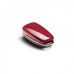 Couvre-clé Audi rouge misano