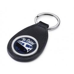 Porte-clés cuir Combi Volkswagen bleu marine