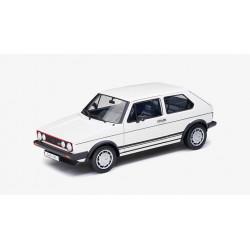 Golf 1 GTI blanche 1983, 1:18